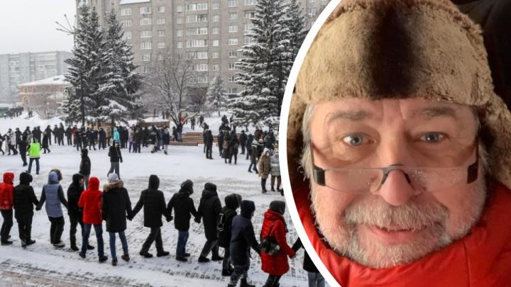 Владимир Перекотий получил 150тысяч штрафа и100часов обязательных работ заучастие вмитингах