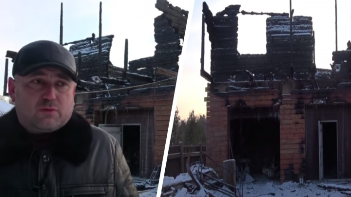 У депутата — сторонника Быкова — сгорел загородный дом. Он считает, что это поджог