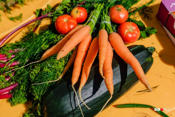 На ярмарках можно будет купить овощи, выращенные фермерами