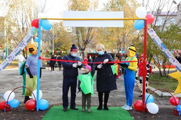 Проект детской площадки в ДС «Веточка» уже получил грант по программе «Химия добра»<br><br>