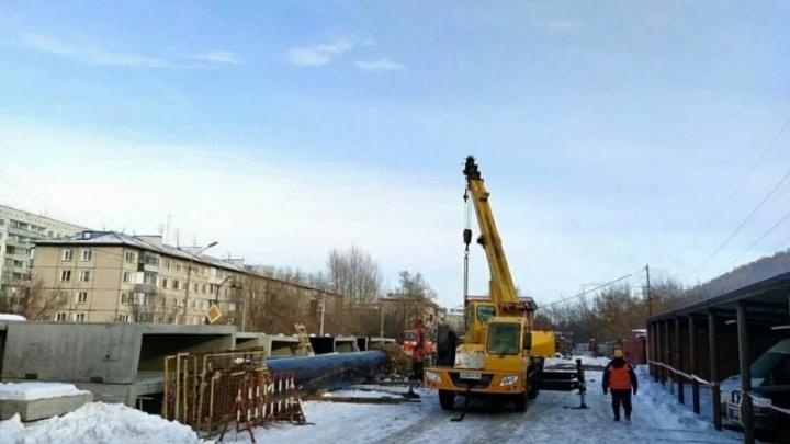 СГК представила план работ на теплосетях Красноярска в 2021 году