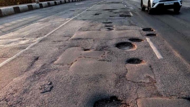 Дорогу на путепроводе «Кировский» отремонтируют по новой технологии