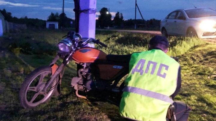 «Я в него камень кину!»: появилось предсмертное видео аварии с мотоциклистом в Ирбейском районе