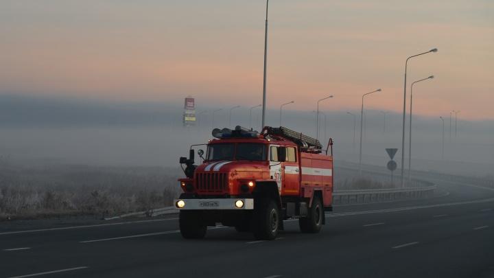 В МЧС назвали вероятную причину пожара в Солнечном, из-за которого задыхается город