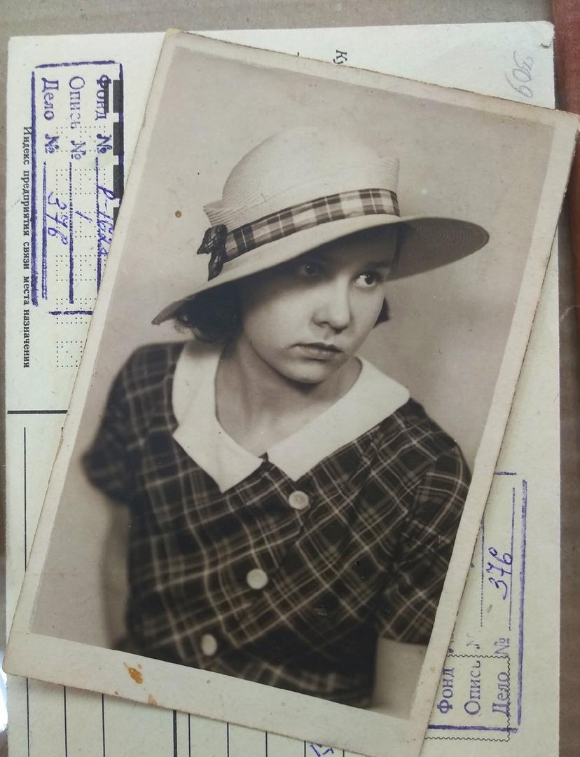Одна из фотографий Ольги в молодости