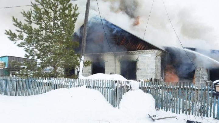 Прокуратура Башкирии проводит проверку по факту пожара, в котором погибли дети
