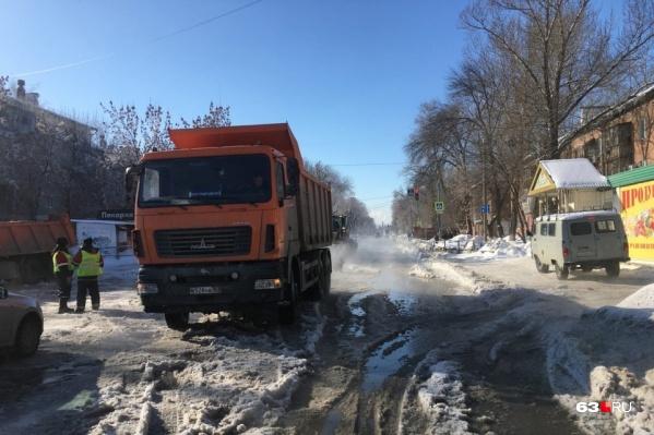 Зубчаниновское шоссе закрыли до 20:00 26 февраля