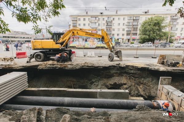 Опрессовка в Челябинске завершилась, но воду дали не всем