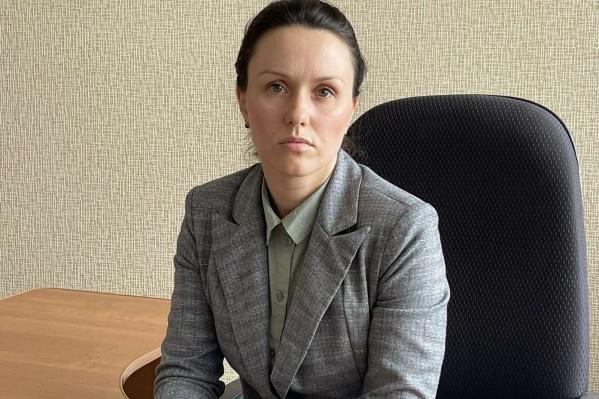 """Елена Писаренко работает в мэрии <nobr class=""""_"""">с 2008 года</nobr>"""