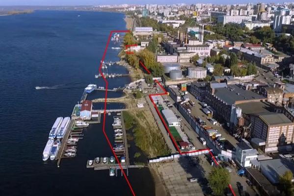 Участок между Жигулевским пивзаводом и бассейном ЦСКА хотят преобразовать
