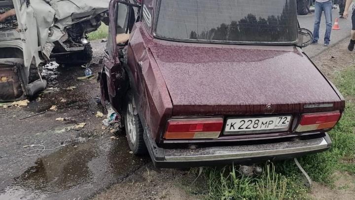 Виновником смертельного ДТП в Крутинском районе был водитель без прав