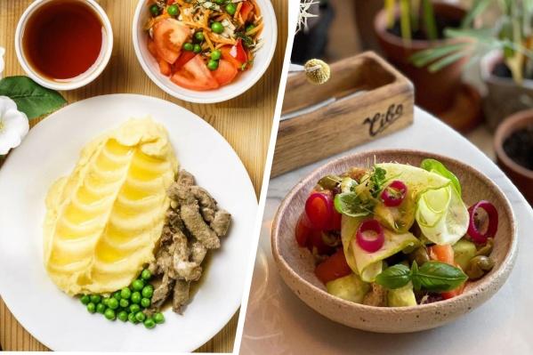 Обеды в кафе Екатеринбурга можно найти по цене от 130 рублей