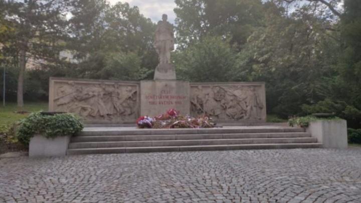 Волгоградцы восстановят памятник погибшим в Чехии советским солдатам