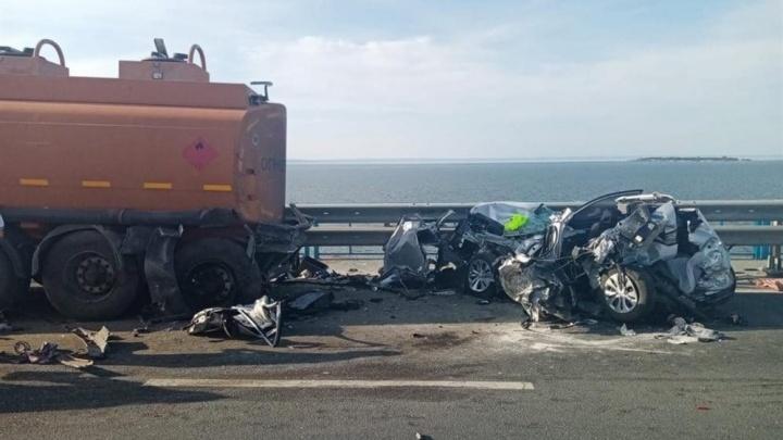 Жительница Тольятти, пострадавшая в ДТП на Президентском мосту, умерла в больнице
