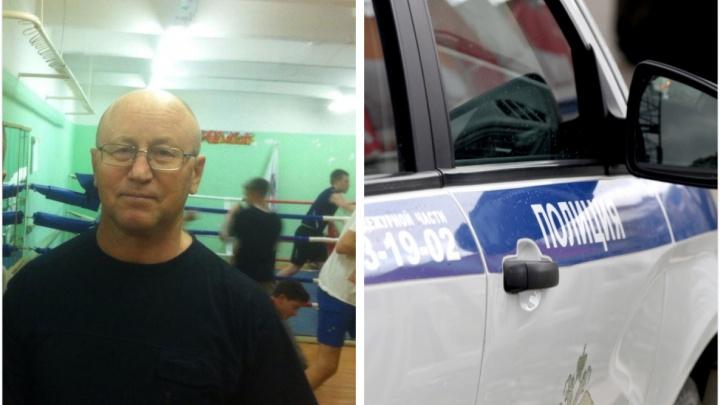 Пропавшего 70-летнего тренера по боксу нашли в десяти километрах от Екатеринбурга