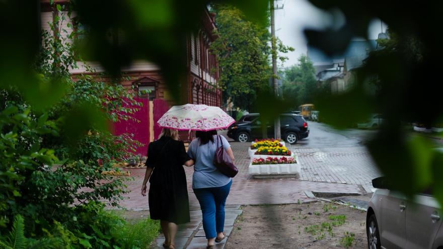Зонтики далеко не убираем: какой будет погода на этих выходных и следующей неделе в Поморье