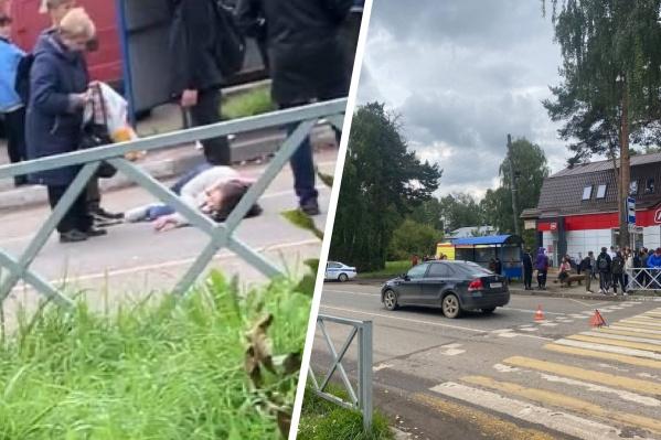 В ДТП пострадала девушка-пешеход