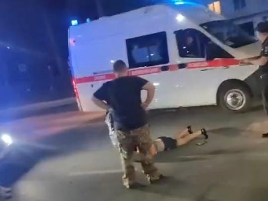 В Асбесте лихач на Mercedes сбил троих пешеходов на «зебре»