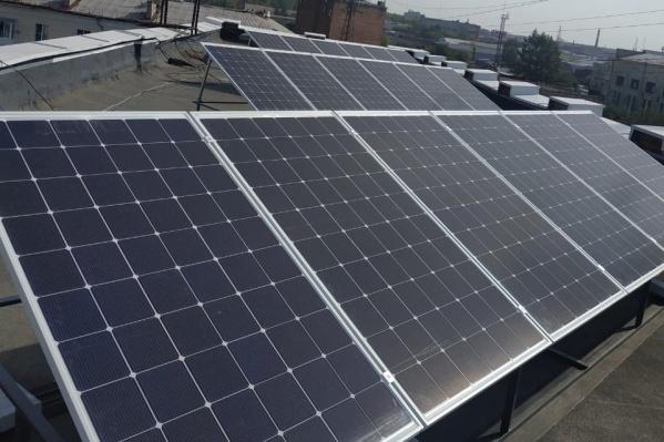 Производимой этими панелями энергии хватит для освещения 900 кв. метров