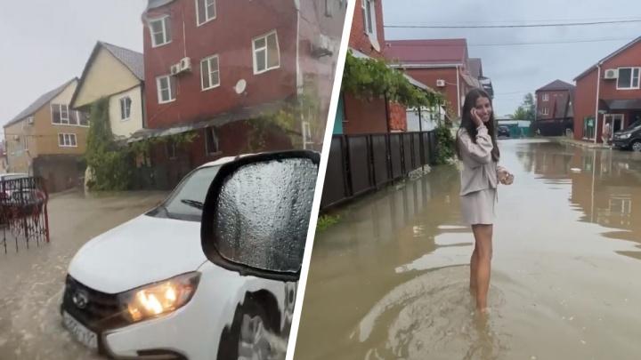 «Сутки выгребали воду ведрами»: архангелогородка рассказала об отдыхе в тонущем Краснодарском крае