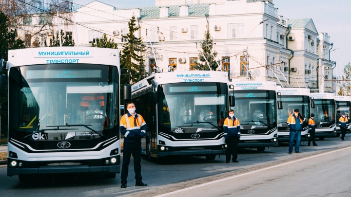 Мэрия Омска потратит еще 400миллионов рублей на новые троллейбусы