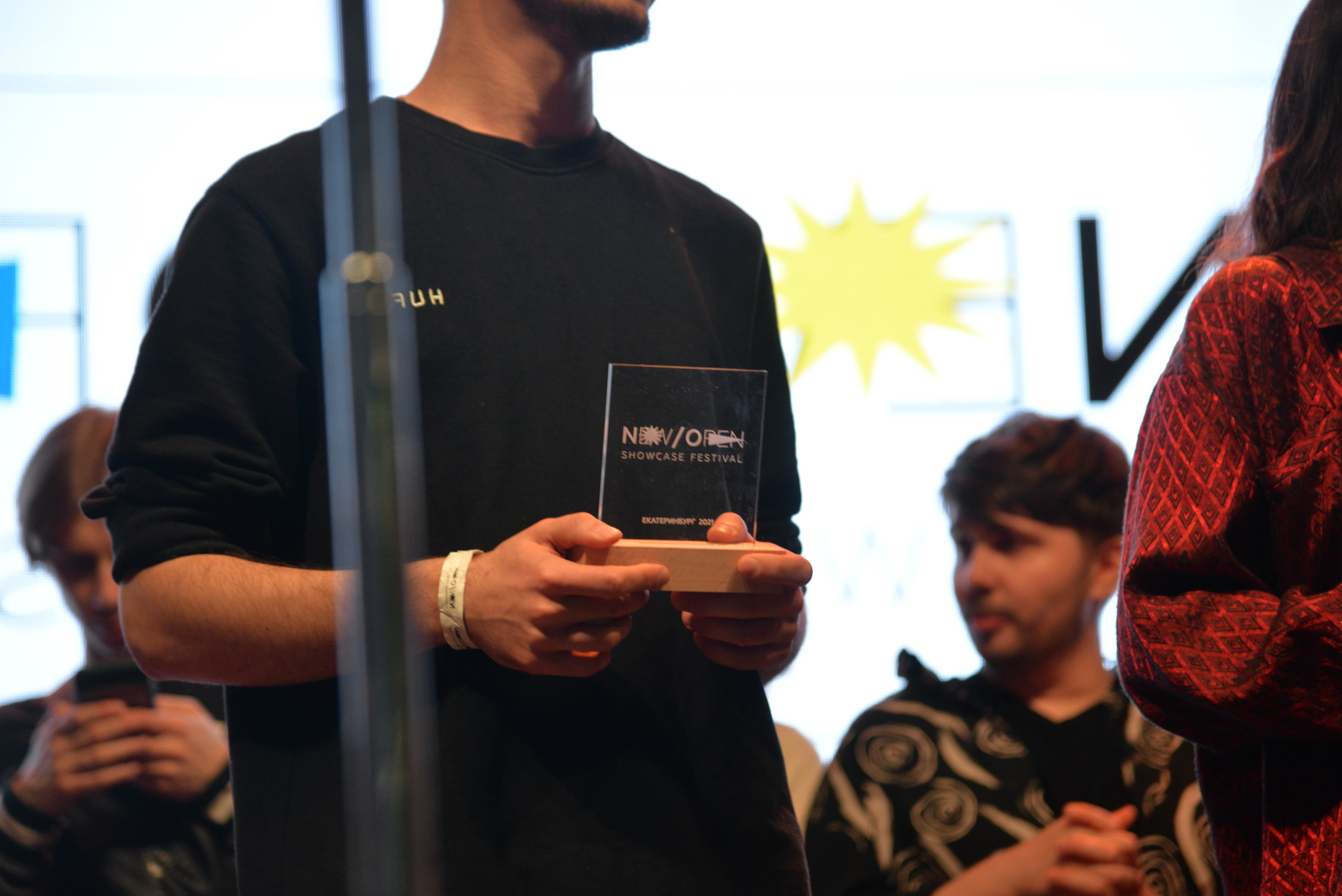 Также участники получили призы от экспертов фестиваля