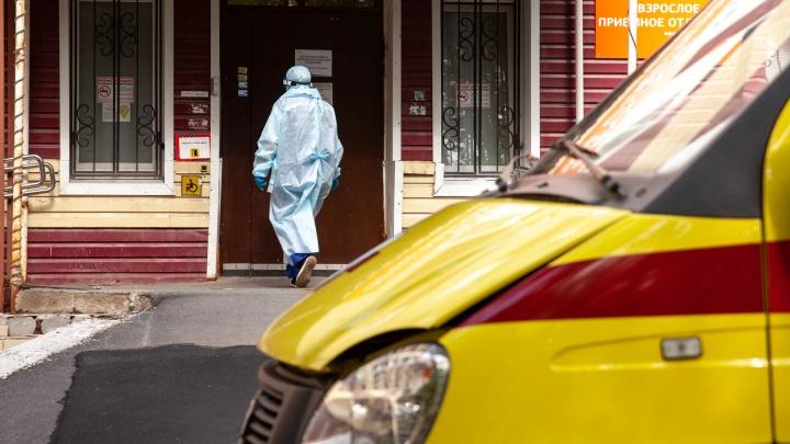 За неделю в Тюменской области умерли больше ста человек с коронавирусом