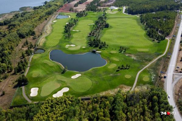 На «челябинской Рублевке» в 20 минутах езды от центра города разместили первый на Южном Урале гольф-клуб
