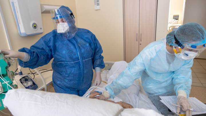 В Самаре вылечили от коронавируса 100-летнюю пациентку