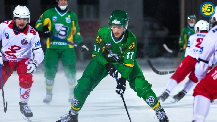 «Водник» победил красноярский «Енисей» в матче чемпионата России по хоккею с мячом