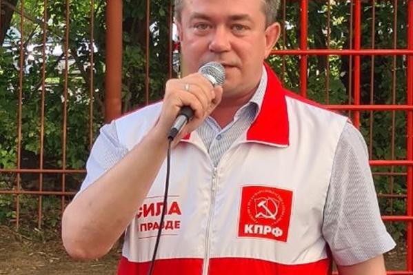 Кандидата в Госдуму от КПРФ Андрея Жирнова доставили в Куйбышевский отдел полиции