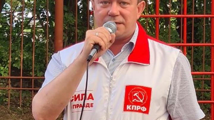 В Новосибирской области полиция задержала кандидата в Госдуму от КПРФ Андрея Жирнова