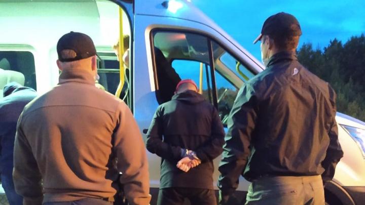 Архангелогородца с двумя килограммами наркотиков задержали на въезде в Котлас. Видео