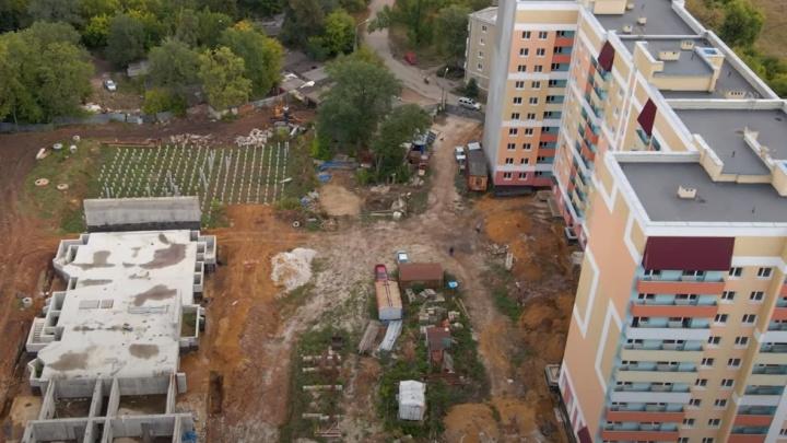 В Самаре взялись достраивать ЖК на 18-м км Московского шоссе