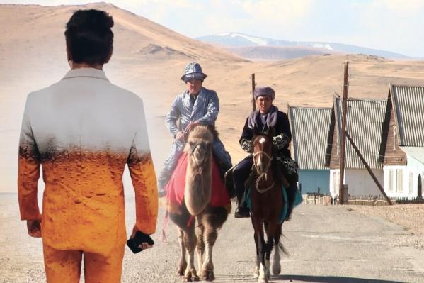 На избирательный участок некоторые пригнали на верблюдах