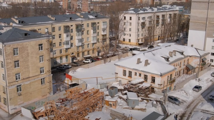 Глава Минстроя прокомментировал высотную застройку двора на проспекте КарлаМаркса