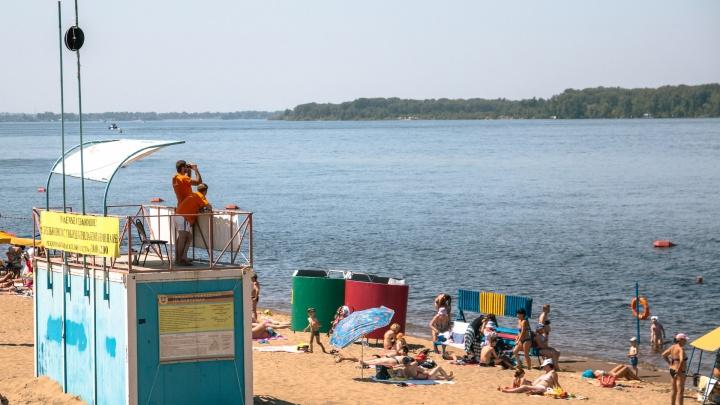 В мэрии Самары ответили на претензии по организации пляжей на Некрасовском спуске