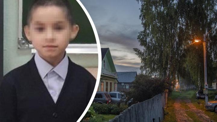 В Ярославском районе прекратили поиски 9-летнего школьника