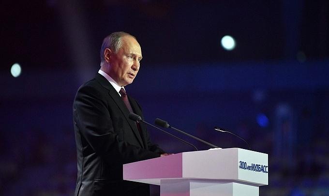 Владимир Путин поддержал строительство копии памятника «Воин-освободитель» в Кузбассе