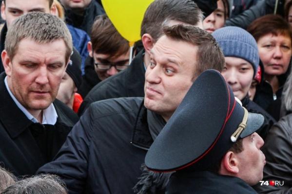 Какое «новое преступление» совершил Навальный, не уточняется