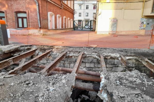Бункер служил хранилищем для угля