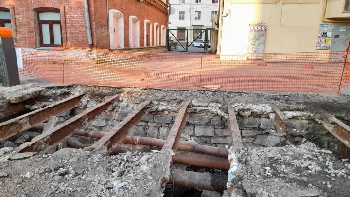 В центре Екатеринбурга случайно нашли заброшенный бункер