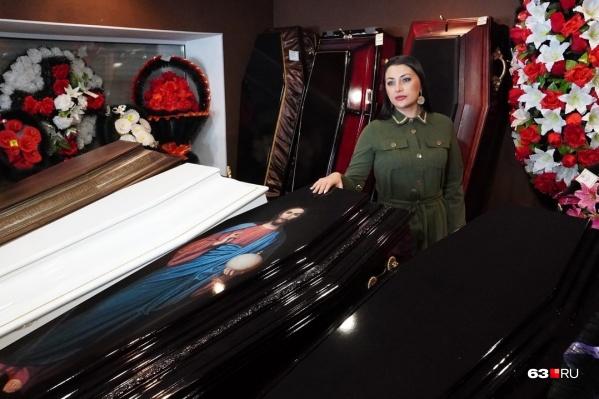 Для Екатерины похоронное бюро стало не только бизнесом, но и любимым делом