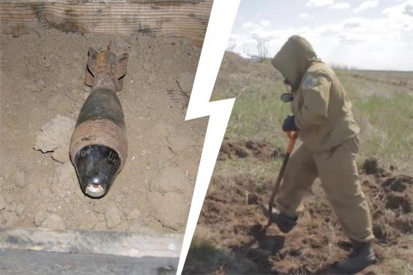 """Высоту, где произошел взрыв, назвали «Огуречной» из-за множества оставшихся в земле «<nobr class=""""_"""">огурцов» —</nobr> <nobr class=""""_"""">50-миллиметровых</nobr> минометных мин"""