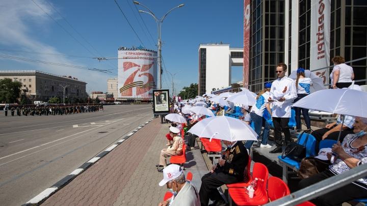 В Ростове на парад Победы пустят только самых быстрых горожан