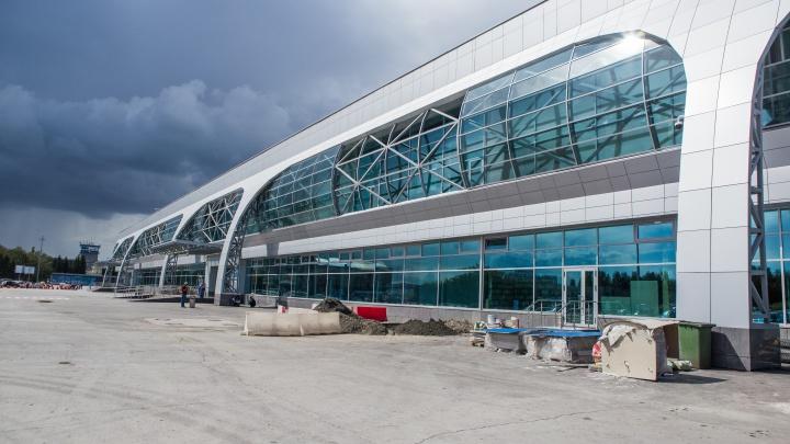В Новосибирске внезапно сели четыре самолета из Москвы
