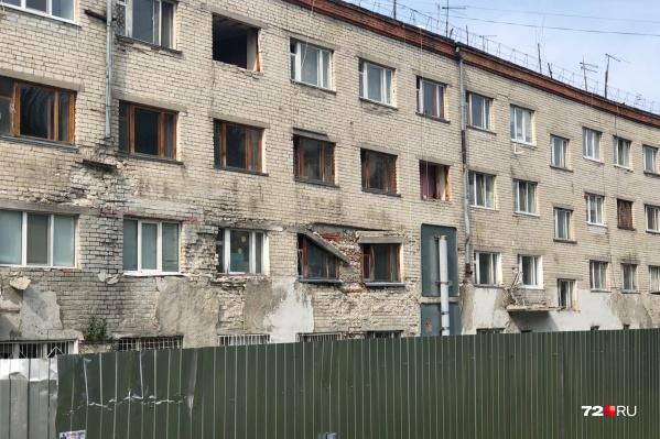 Одно из общежитий на Ставропольской сейчас выглядит так