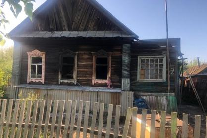 По предварительным данным, пожар мог произойти из-за неисправной электропроводки