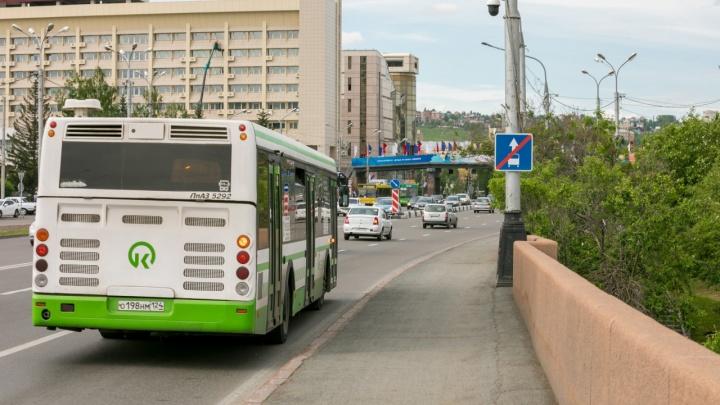 В Красноярске на две недели изменится схема движения семи автобусов