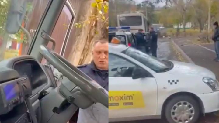 «Вы сами были без масок»: полиция скрутила двух красноярцев за отсутствие масок